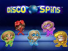 Онлайн игровой аппарат Disco Spins