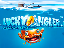 Слот онлайн Счастливый Рыбак: Зимний Улов на зеркале Вулкана